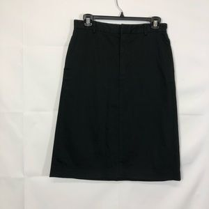 GAP Black Pencil Straight Skirt Size 4